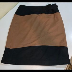 Willi Smith Wool A Line Italian Skirt Size 12